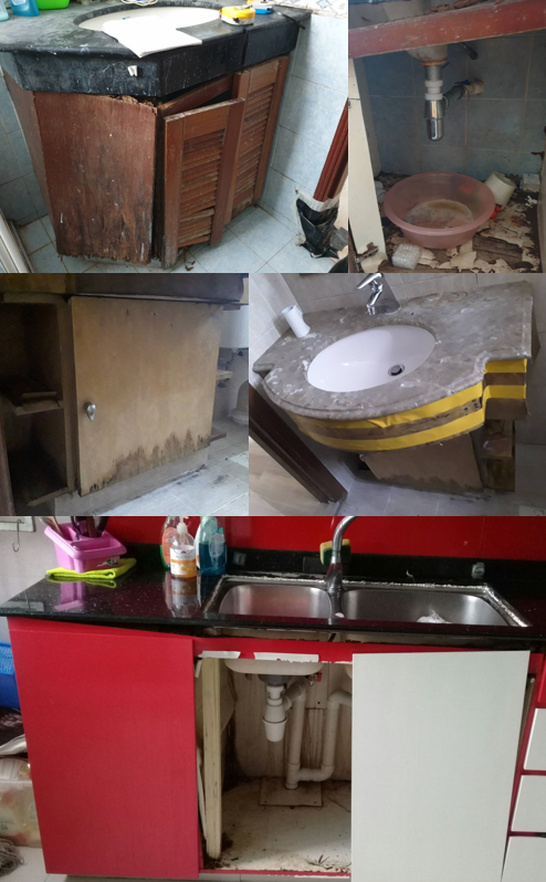 Cabinet Repair Works By Hrd Professional Handyman Pte Ltd Singapore Professional Handyman