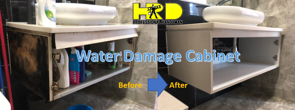 Cabinet Repair Works By Hrd Professional Handyman Pte Ltd